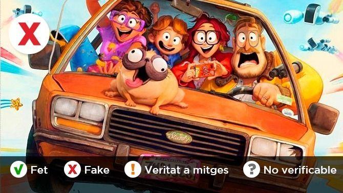 """És veritat que Netflix doblarà més en català si molta gent veu """"La família Mitchell""""?"""