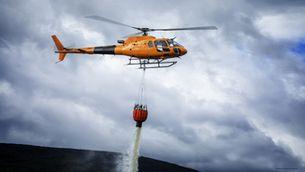 Helitrans Pyrinees: helicòpters de càrrega, rescats o transmissions esportives