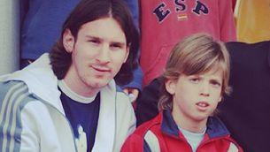 El dia que Dani Olmo es va negar a fer-se una foto amb Messi