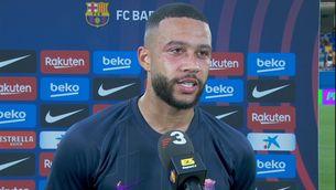 """Memphis, il·lusionat: """"Estic molt content de debutar amb el Barça"""""""
