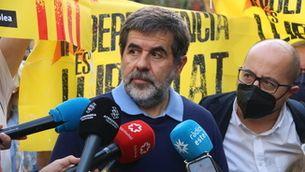 """Jordi Sànchez: """"La reacció de La Moncloa ens encén tots els llums d'alarma"""""""