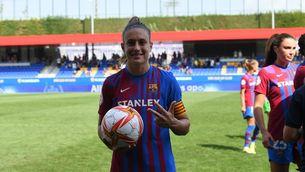 Alexia Putellas, després del partit contra el València