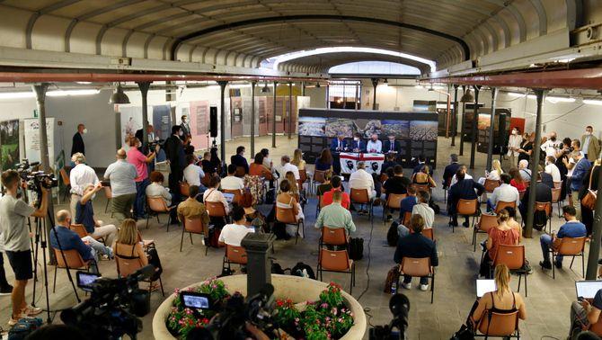 Puigdemont ha fet una roda de premsa 24 hores després de la seva posada en llibertat a l'Alguer