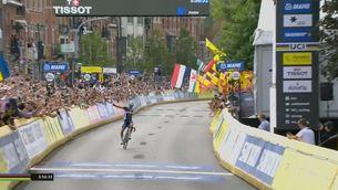 Crònica de la Victòria d'Alaphilippe en el Mundial de ciclisme de Flandes