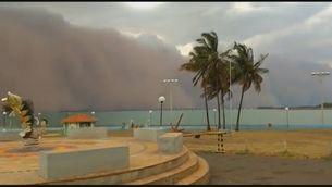Tempestes de sorra durant una de les pitjors sequeres del segle al Brasil