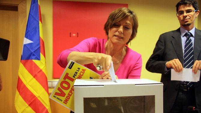 L'Assemblea Nacional Catalana torna a escollir Carme Forcadell com a presidenta