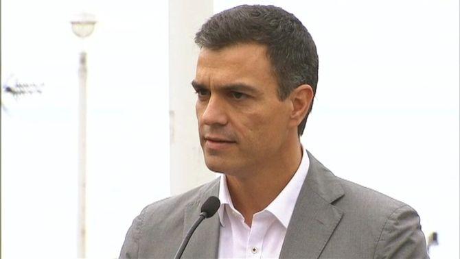 Pedro Sánchez a Portugalete, Biscaia