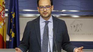 El socialista Antonio Hernando en una imatge d'arxiu (EFE)