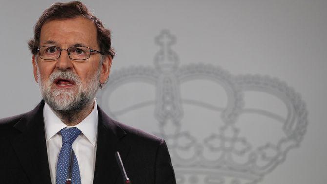 Compareixença de Mariano Rajoy després del Consell de Ministres