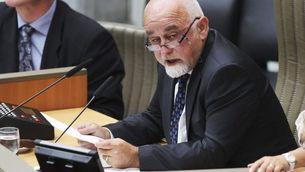 El president del Parlament flamenc, Jan Peumans (Reuters)