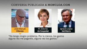 Es complica la situació de Cospedal amb noves revelacions de la reunió amb Villarejo