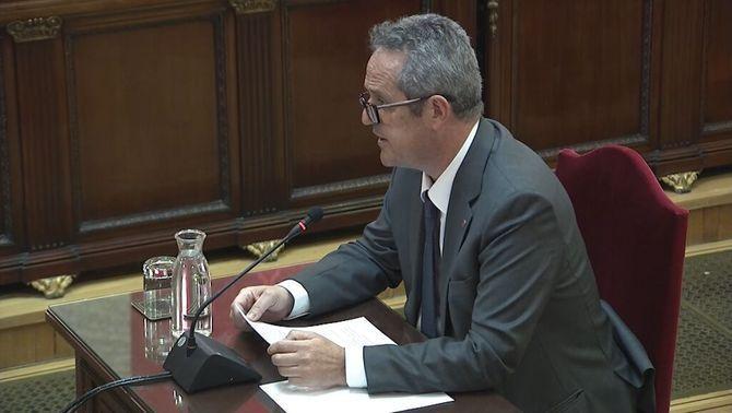 """Joaquim Forn: """"Se me condena por mis ideas políticas"""""""