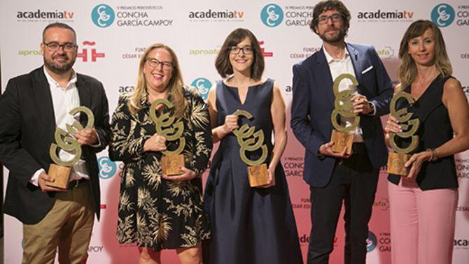 """""""Peixos d'aigua dolça (en aigua salada)"""", emès l'any passat al """"Sense ficció"""", ha rebut el Premi de Periodisme Científic Concha García Campoy."""