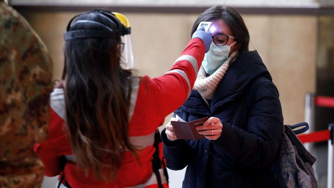 Itàlia registra la xifra més baixa de contagis per coronavirus dels últims vint dies