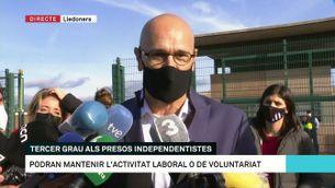 """Raül Romeva: """"La repressió s'ha d'acabar"""""""