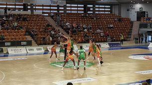 imatge d'una jugada del partit