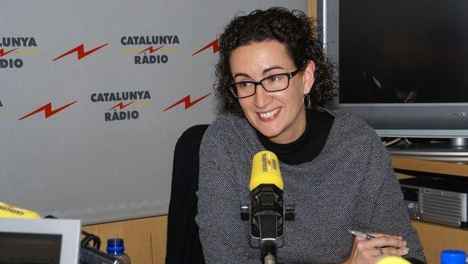 Rovira, a Catalunya Ràdio en una imatge d'arxiu.