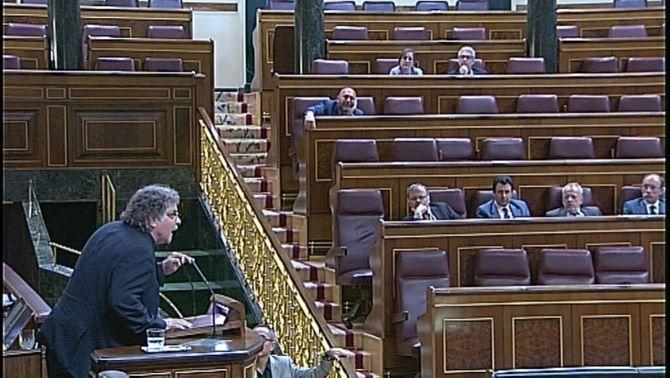 """Expulsen Joan Tardà de la tribuna del Congrés perquè acusa Wert d'""""ignorant"""""""