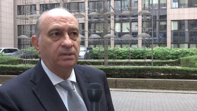 El ministre de l'interior en funcions, Jorge Fernández Díaz