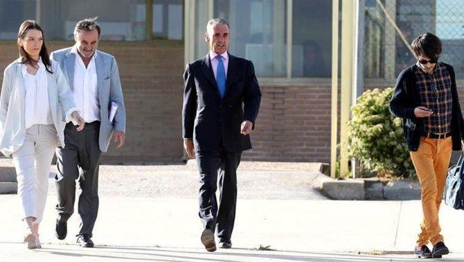 Mario Conde, en llibertat després de pagar la fiança de 300.000 euros