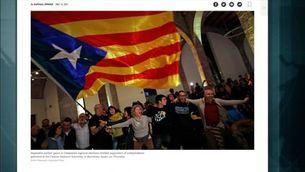 Els mitjans internacionals destaquen la victòria dels independentistes i la patacada del govern espanyol