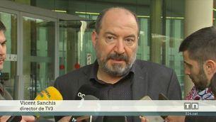 El director de Catalunya Ràdio, Saül Gordillo, i el de TV3, Vicent Sanchis, declaren al jutjat 13