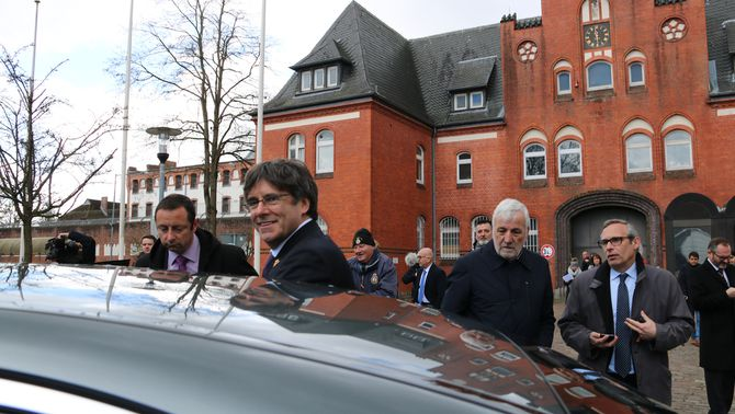 La policia belga implica un fiscal de l'Audiència en el cas d'espionatge a Puigdemont