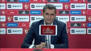 """Valverde: """"No hem complert les expectatives que hem generat"""""""