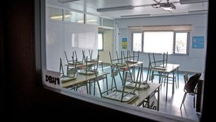 Totes les escoles catalanes, tancades des del 13 de març pel coronavirus