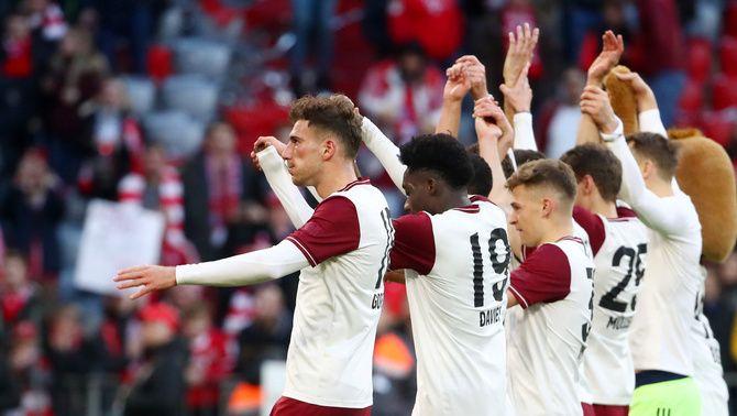 Els jugadors i directius del Bayern de Munic renuncien a un 20% del seu sou