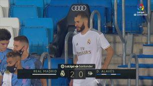 Resum del Reial Madrid-Alabès