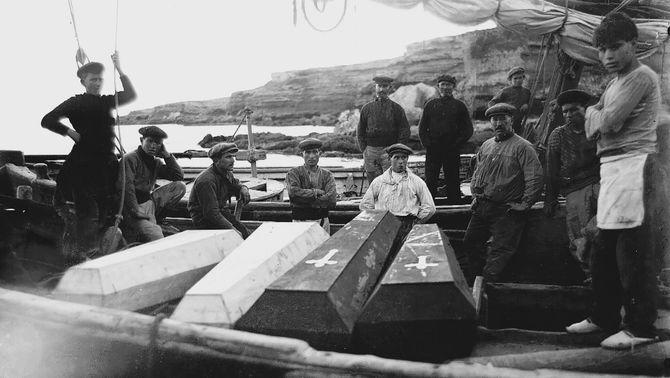 El naufragi del Soberano, una tragèdia del 1915 a l'Ebre amb nom i cognoms