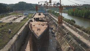 Un Titanic de mida real a terra ferma a la Xina
