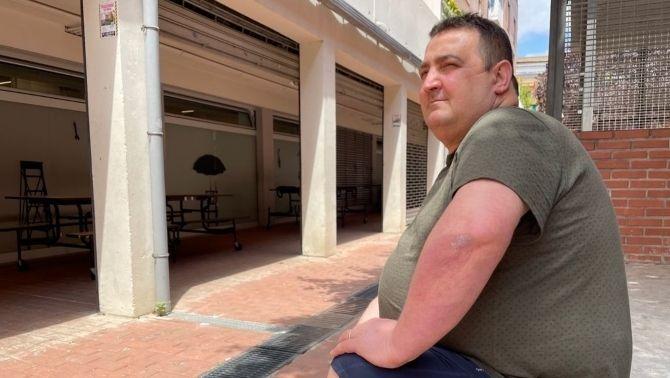 Paco Espigares, cuiner i voluntari a la Fundació Pare Manel