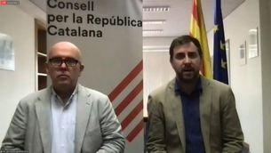 EN DIRECTE | Toni Comín i Gonzalo Boye compareixen arran de la detenció de Puigdemont
