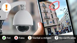 Els mossos van instal·lar càmeres de reconeixement facial per la Diada?