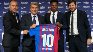 """""""La meva prioritat era quedar-me al Barça"""""""