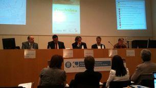 Una conferència a la trobada de la penedesfera. (Foto: David Andreu)