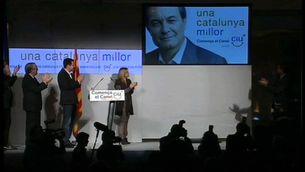 CiU presenta el lema electoral quatre dies abans de l'inici de la campanya.