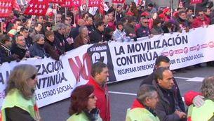 Manifestacions contra la reforma de la jubilació de Zapatero