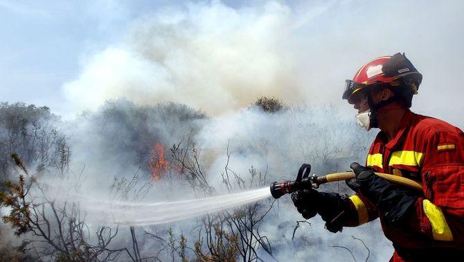 Els incendis de Cortes de Pallars i Andilla han cremat gairebé 50.000 hectàrees