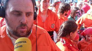 """Oriol Junqueras, participant a la """"V"""". (Foto: Xavi Abad)"""