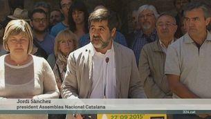 Jordi Sànchez relleva Carme Forcadell al capdavant de l'ANC