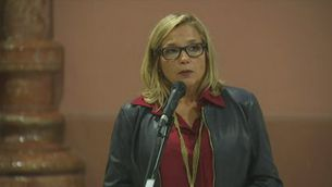 Compareixença íntegra de Joana Ortega després de declarar pel 9-N