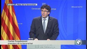 """Puigdemont: """"Expressem la nostra més enèrgica condemna contra aquest atemptat al cor d'Europa"""""""