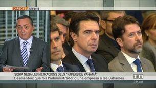 """Soria nega les filtracions dels """"papers de Panamà"""""""