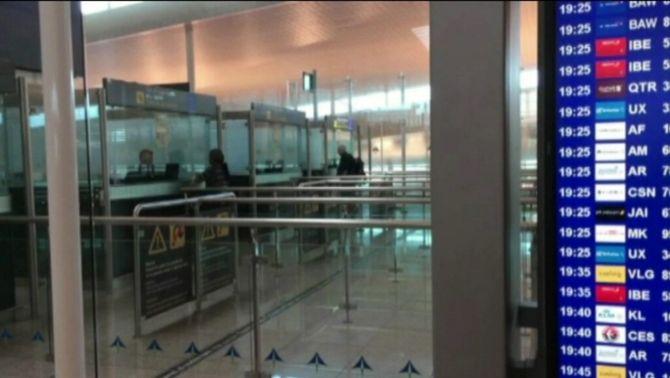 De moment, ja no hi ha cues llargues al control de passaports