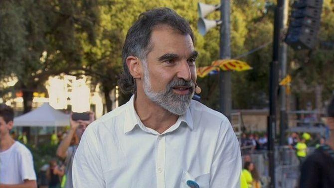 Jordi Cuixart, president d'Òmnium Cultural (arxiu)