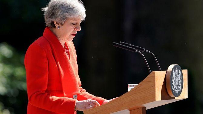"""Theresa May anuncia que dimitirà del càrrec el 7 de juny: """"He fet tot el que he pogut"""""""