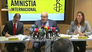 Amnistia Internacional presenta l'informe sobre el judici del procés